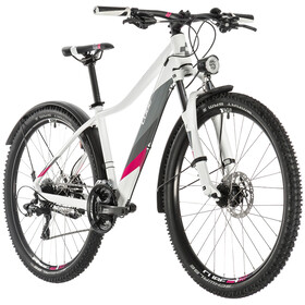 Cube Access WS Allroad Damer, white'n'berry